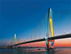 核攀疲口世纪大桥