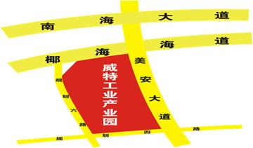 美安新厂路径图