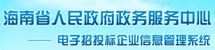 海南省政務服務中心電子招投標企業信息管理系統